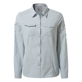 Craghoppers NosiLife Adventure II Longsleeved Shirt Damen mineral blue